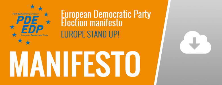 PDE-EDP MANIFESTO